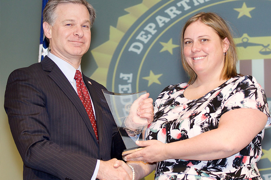Our client, Ascent 121 receives FBI Director's Community Leadership Award!
