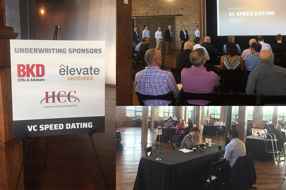 HCC Sponsors TechPoint – VC Speed Dating Event