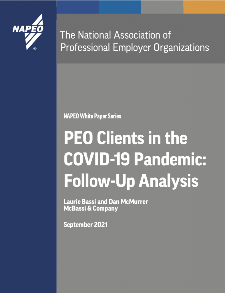 PEO Clients in the COVID-19 Pandemic